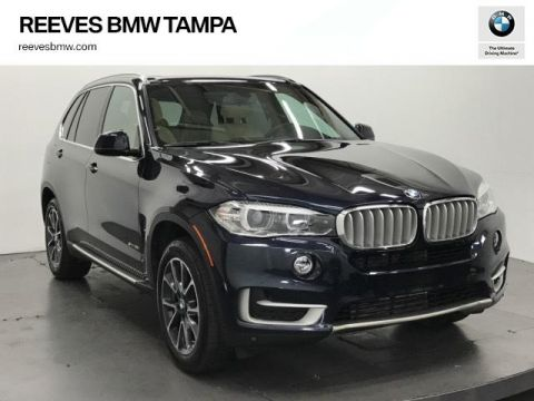 Certified Pre-Owned 2017 BMW X5 sDrive35i Sports Activity Vehicle RWD Sport Utility