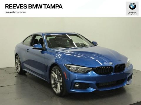 New 2018 BMW 4 Series 430i Coupe SULEV RWD 2dr Car