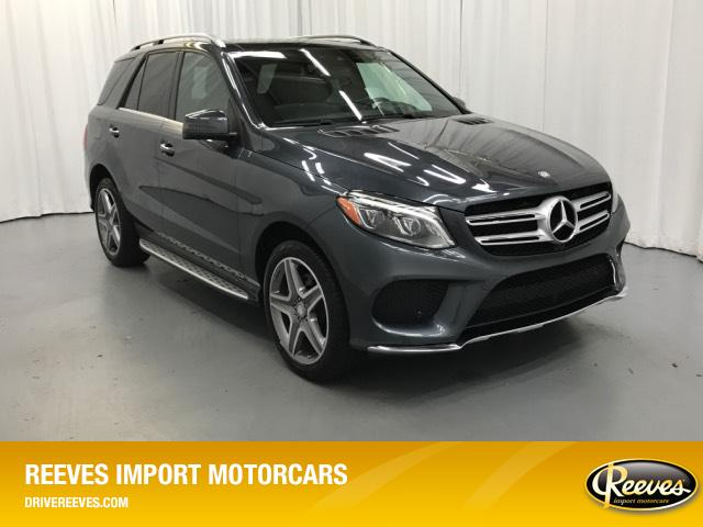Pre-Owned 2016 Mercedes-Benz GLE RWD 4dr GLE 350