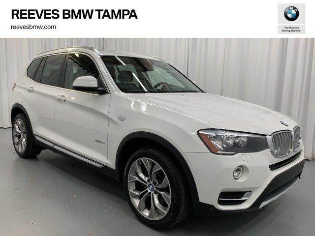 Certified Pre-Owned 2017 BMW X3 sDrive28i sDrive28i