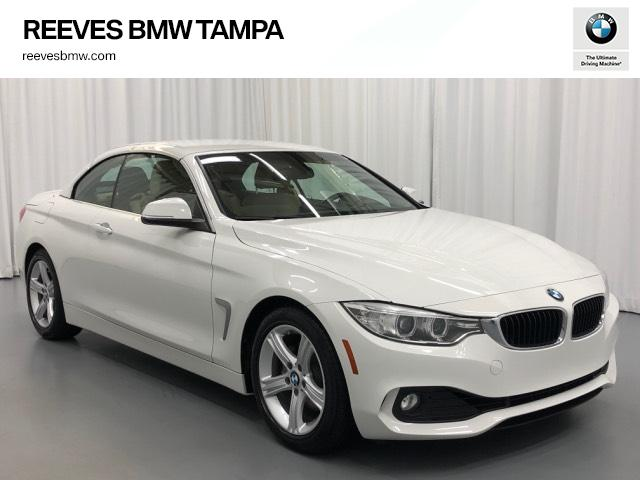 Certified Pre-Owned 2015 BMW 4 Series 2dr Conv 428i RWD