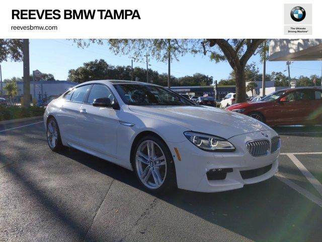 Certified Pre-Owned 2016 BMW 6 Series 4dr Sdn 650i RWD Gran Coupe