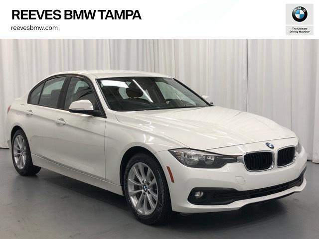 Certified Pre-Owned 2016 BMW 3 Series 4dr Sdn 320i RWD