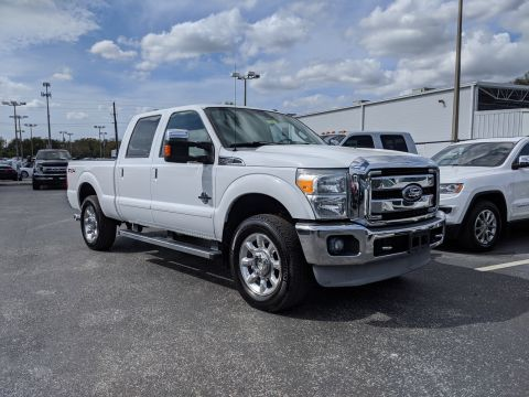 Pre-Owned 2011 Ford Super Duty F-250 SRW 4WD Crew Cab 156 Lariat