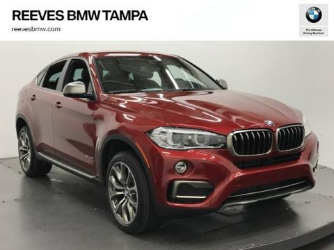 New 2018 BMW X6 sDrive35i Sports Activity Coupe With Navigation