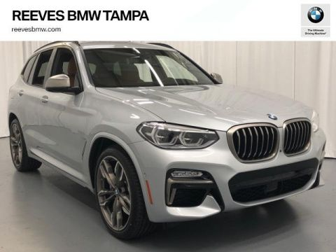 New 2019 BMW X3 M40i Sports Activity Vehicle With Navigation & AWD