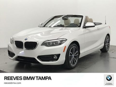 New 2018 BMW 2 Series 230i Convertible RWD Convertible