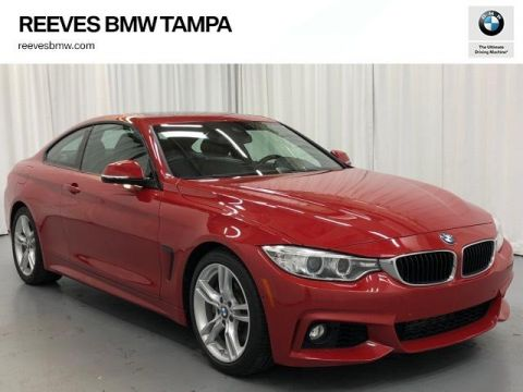 Certified Pre-Owned 2016 BMW 4 Series 2dr Cpe 428i RWD SULEV