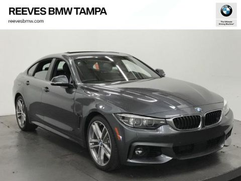 New 2018 BMW 4 Series 440i Gran Coupe RWD 4dr Car