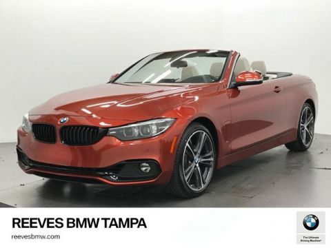 New 2018 BMW 4 Series 430i Convertible RWD Convertible