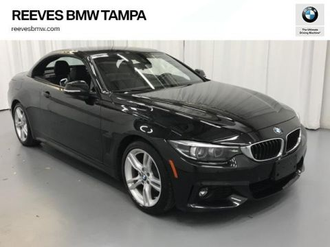 Certified Pre-Owned 2019 BMW 4 Series 430i Convertible