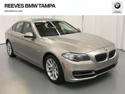Pre-Owned 2014 BMW 5 Series 4dr Sdn 535i RWD