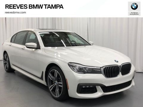 Certified Pre-Owned 2018 BMW 7 Series 740i Sedan