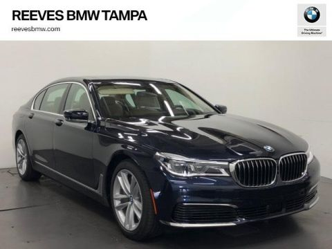 New 2019 BMW 7 Series 750i Sedan With Navigation