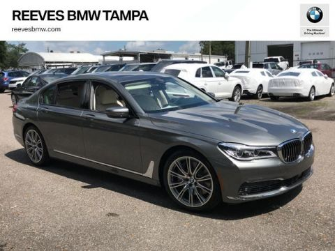 New 2019 BMW 7 Series 750i Sedan