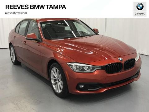 Certified Pre-Owned 2018 BMW 3 Series 320i Sedan RWD 4dr Car