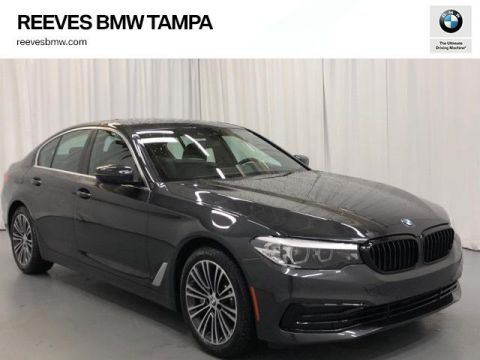 Certified Pre-Owned 2019 BMW 5 Series 530i Sedan