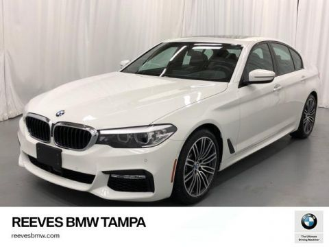 Certified Pre-Owned 2018 BMW 5 Series 540i xDrive Sedan