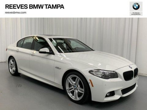 Certified Pre-Owned 2016 BMW 550i 550i