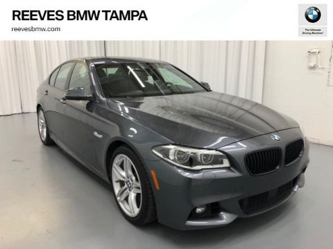 Certified Pre-Owned 2016 BMW 5 Series 4dr Sdn 550i RWD