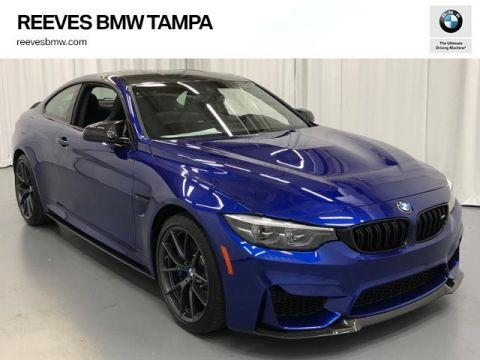 New 2019 BMW M4 CS Coupe With Navigation