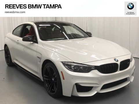 New 2019 BMW M4 Coupe With Navigation